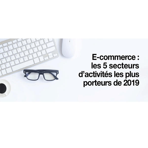 E-commerce : quels sont les secteurs d'activités les plus porteurs de 2019